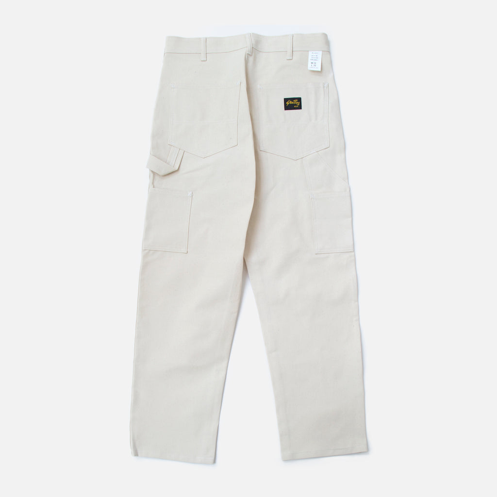OG Painter Pant in Natural Drill from the Spring / Summer 2020 Stan Ray collection blues store www.bluesstore.co