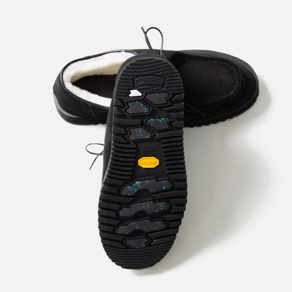 Suicoke DYS Mwpab Mocassins in Black blues store www.bluesstore.co