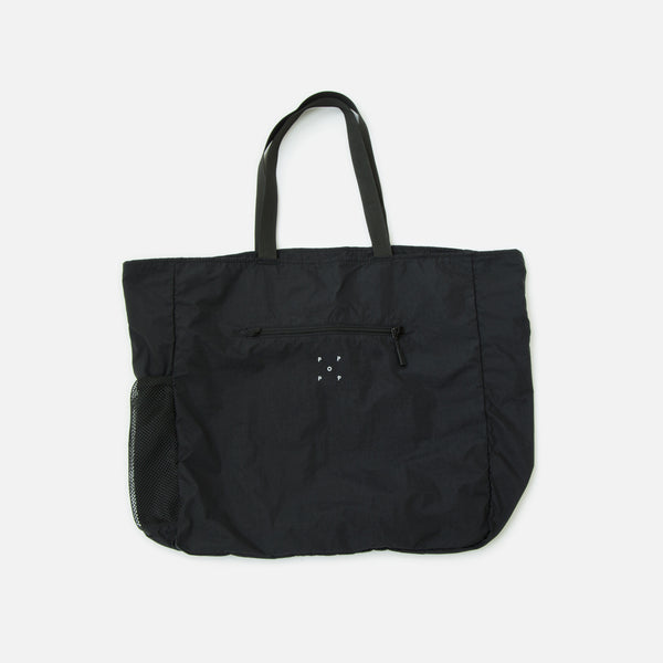 Tote Bag in Black from Pop Trading Company blues store www.bluesstore.co