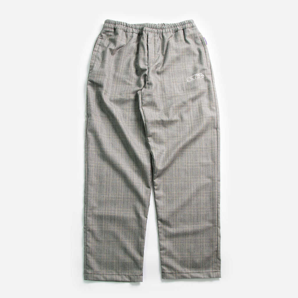 Tres Bien / Sneeze Check Wool Pants in Grey blues store www.bluesstore.co
