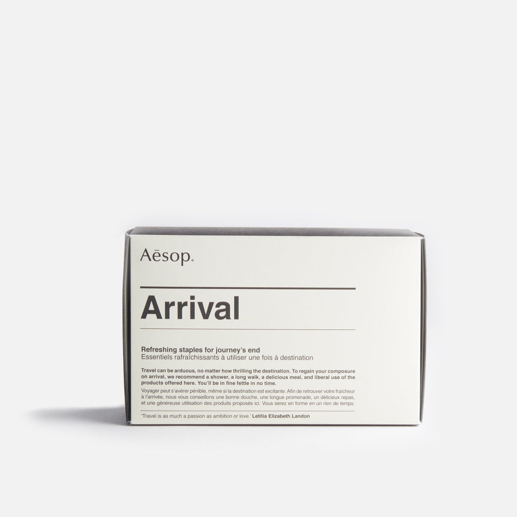 Arrival Travel Kit from Aesop blues store www.bluesstore.co