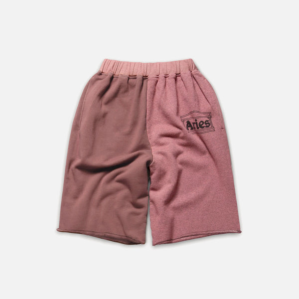 OD Colourblock Sweatshorts in Pink from Aries blues store www.bluesstore.co