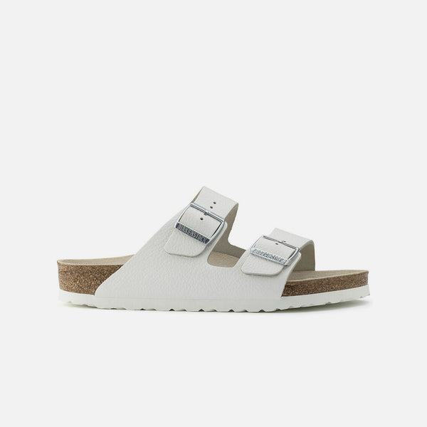 Arizona Natural Leather in White from Birkenstock blues store www.bluesstore.co