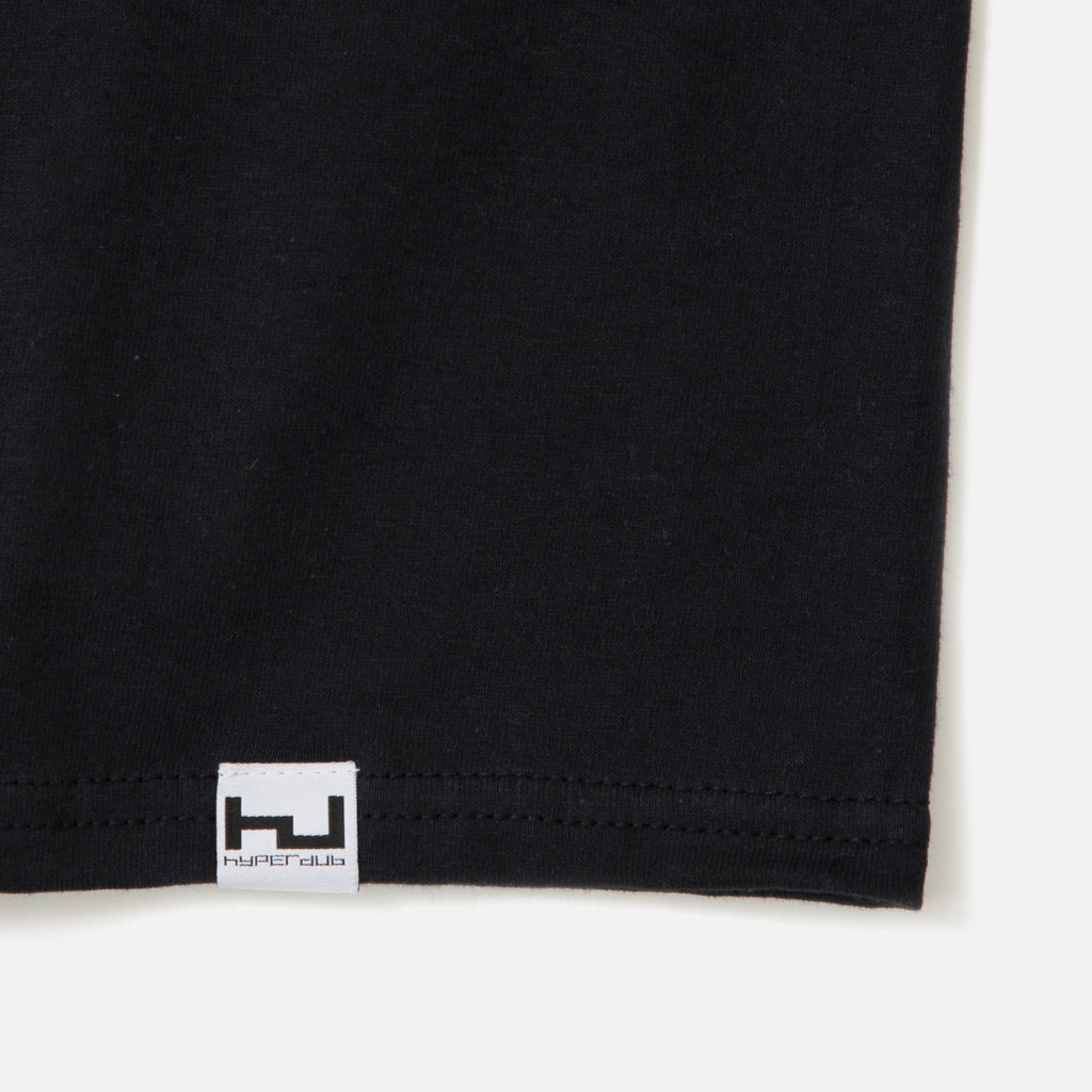 black hyperdub burial chest logo t-shirt blues store www.bluesstore.co