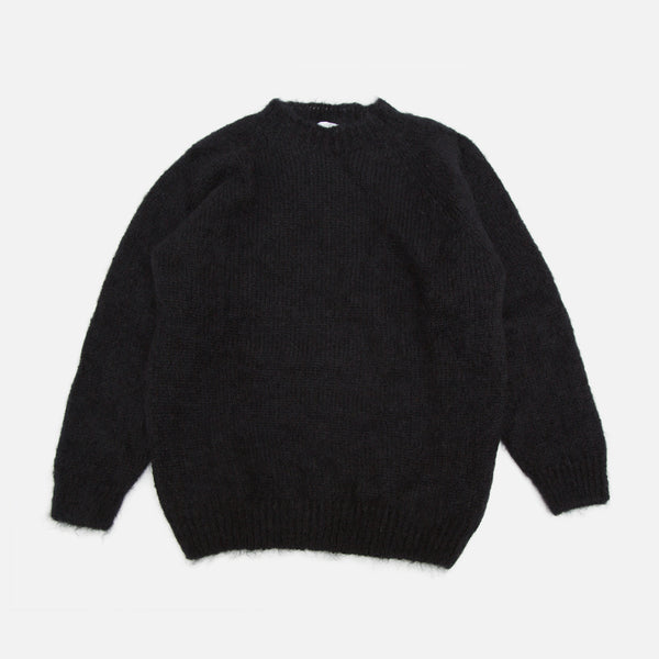 Colourway Black Mohair Pullover