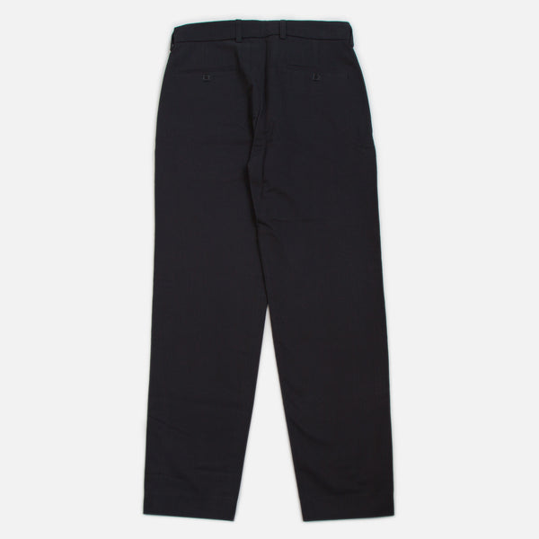 Blues Cotton Twill Pants - Black