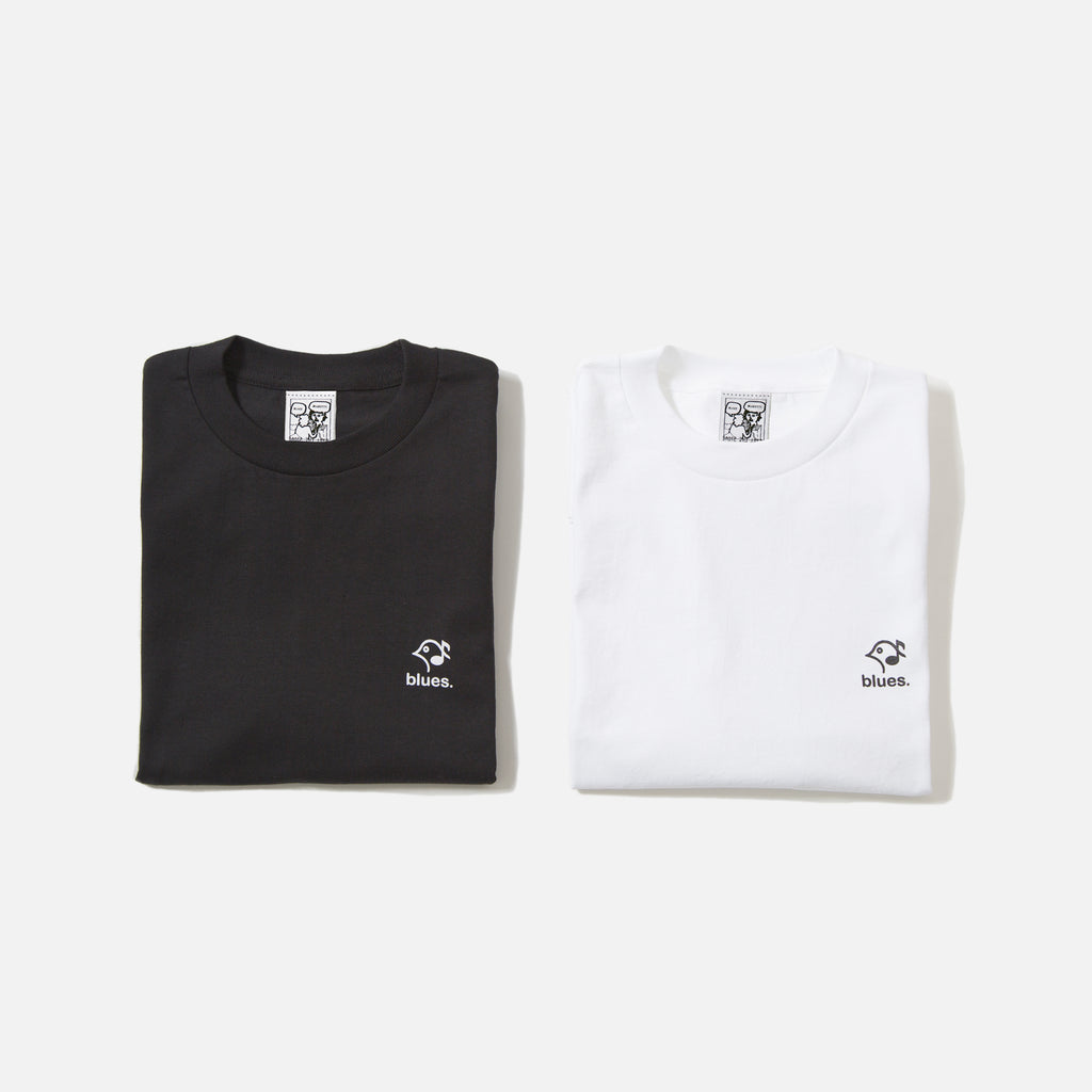 Blues Mini Logo T-shirt - White