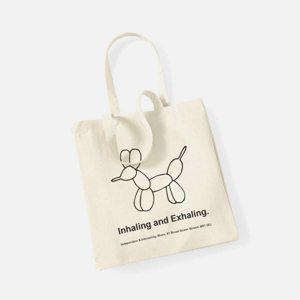 Young, Free & Single Tote - Natural