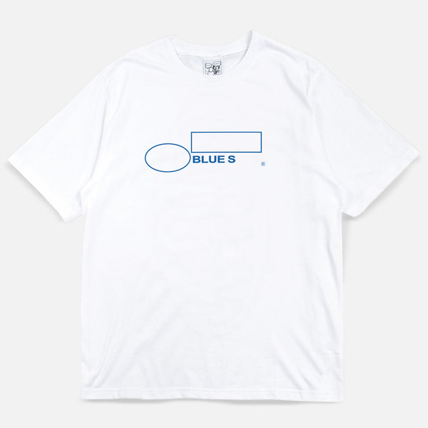Blues The Finest T-shirt - White