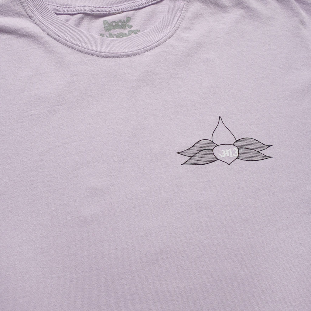 Lotus Longsleeve T-shirt in Orchid from the Book Works Fall 2020 collection blues store www.bluesstore.co