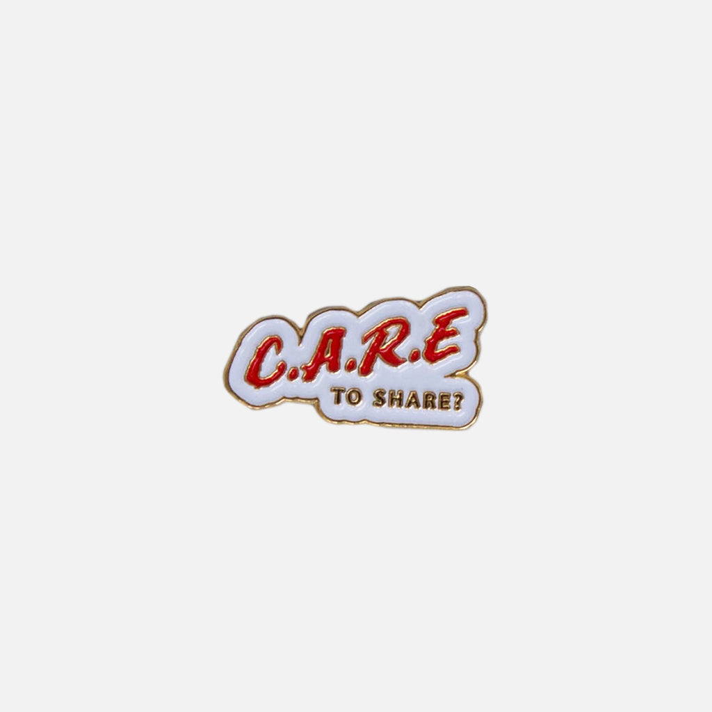 Book Works Care Pin