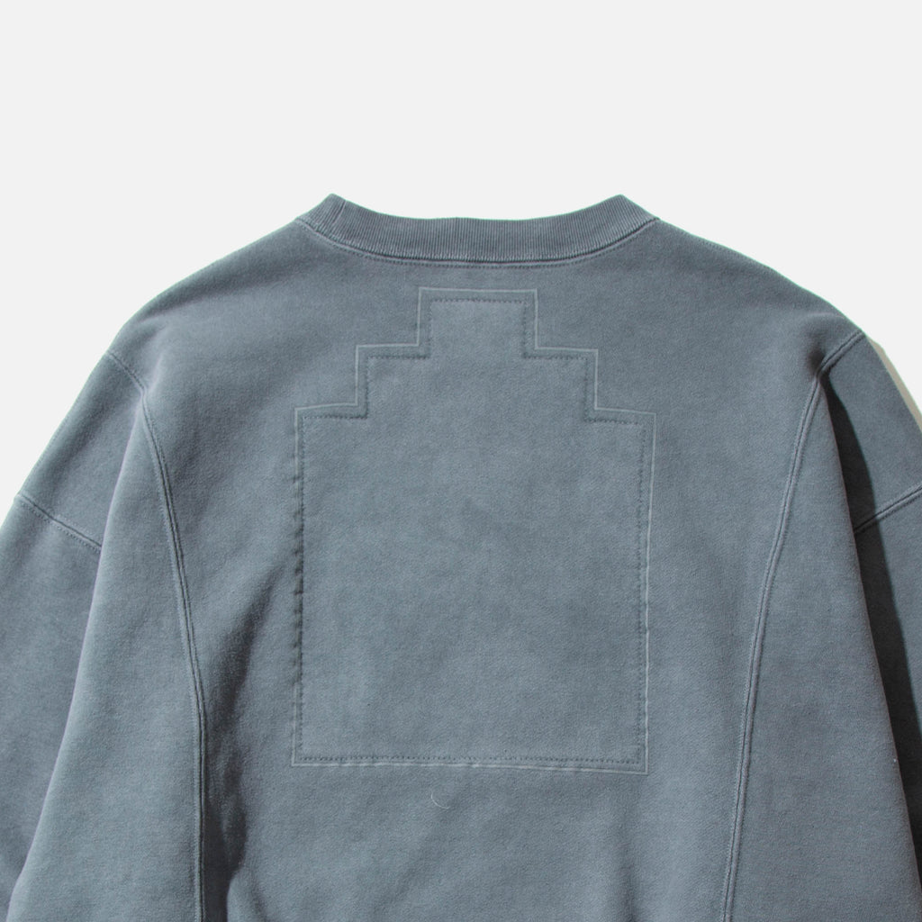 Overdye Cut Line Crew Neck from Cav Empt blues store www.bluesstore.co