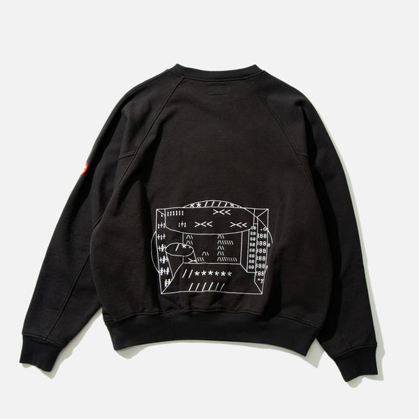 Symbols Big Crew Neck from Cav Empt blues store www.bluesstore.co