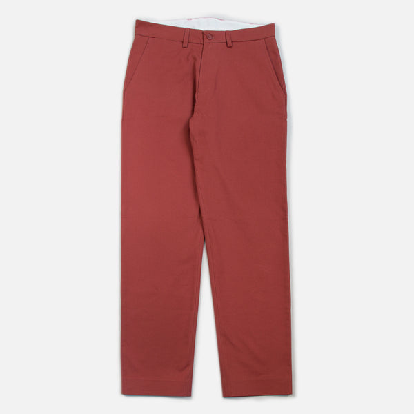 Blues Cotton Twill Pants - Clay