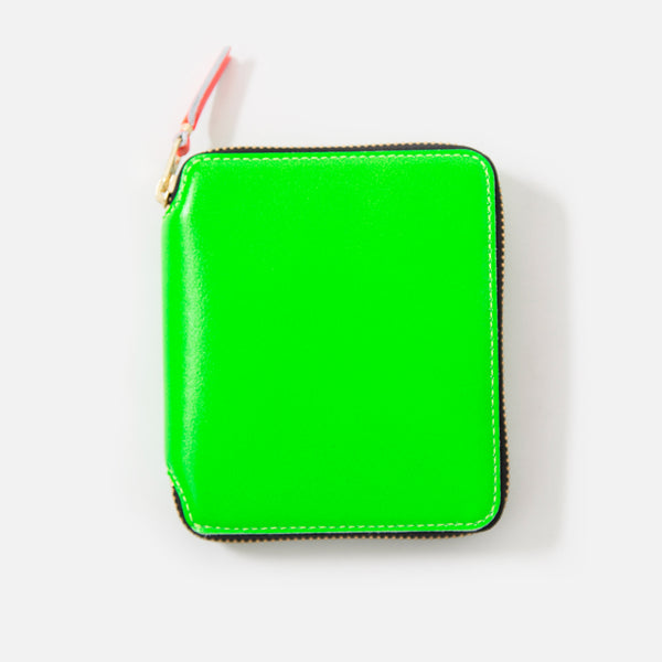 Comme des Garcons Super Fluo Leather in Green SA2100SF blues store www.bluesstore.co