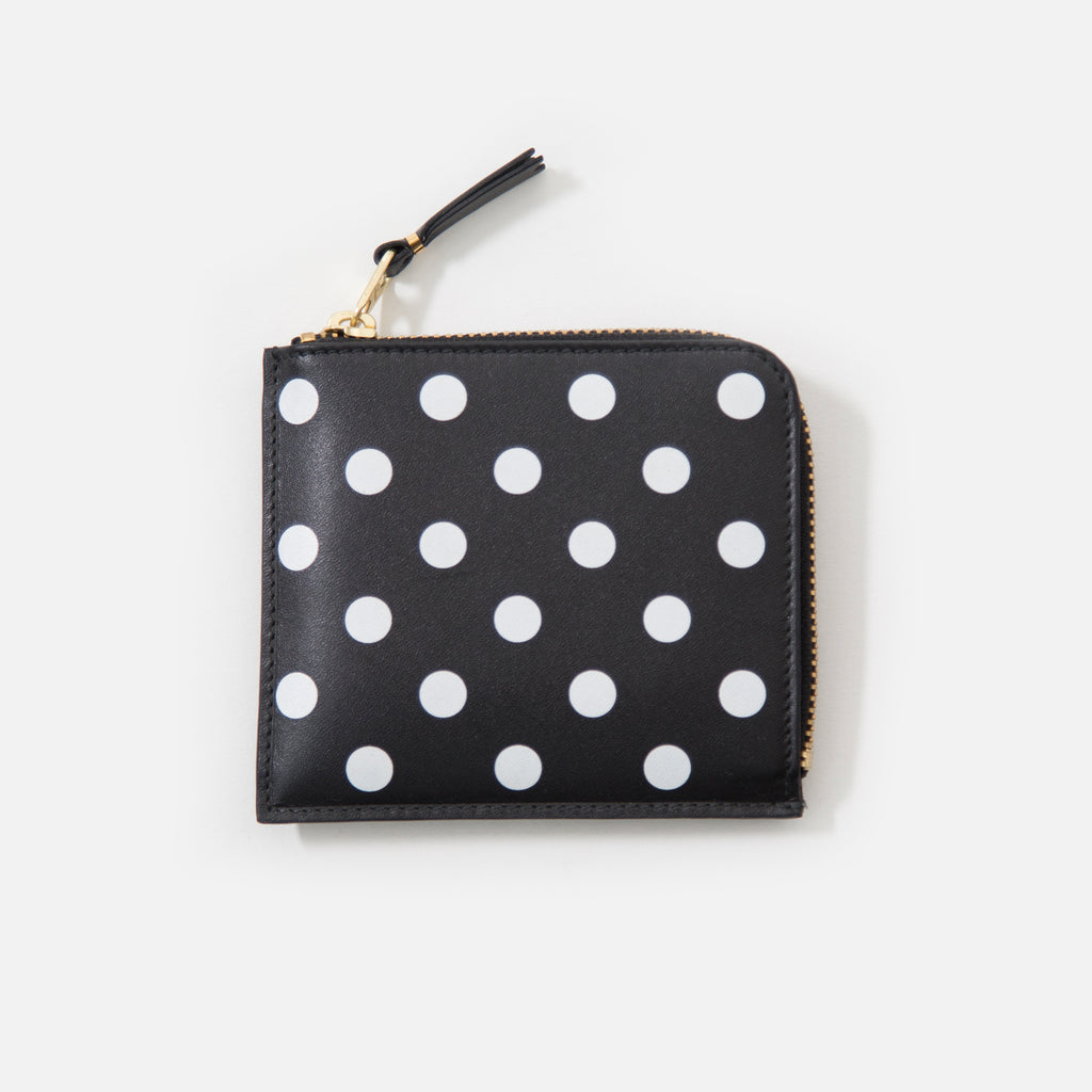 Comme des Garcons Classic Leather Polka Dot Black SA3100PD blues store www.bluesstore.co
