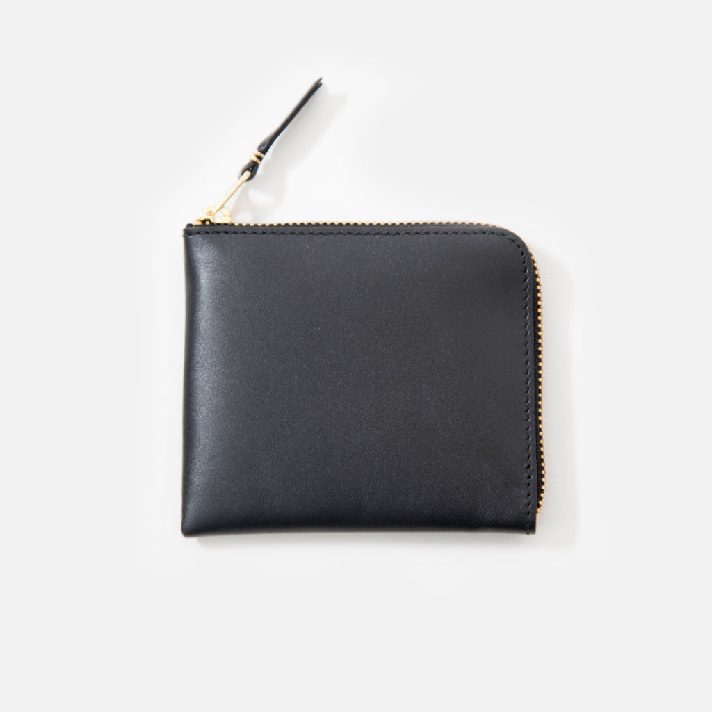 Comme des Garcons Classic Leather Wallet in Black SA3100 blues store www.bluesstore.co