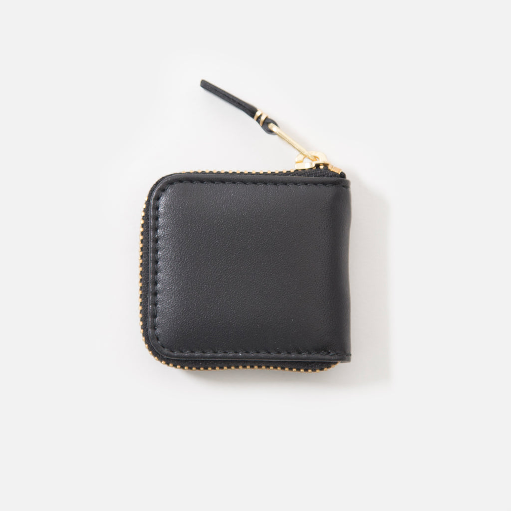 Comme des Garcons Classic Leather Wallet in Black SA4100 blues store www.bluesstore.co