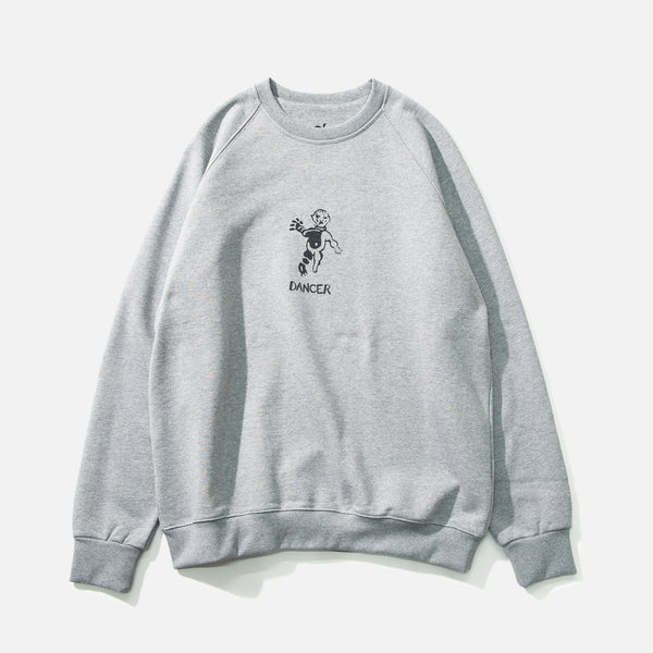 OG Logo Sweatshirt in Heather Grey from Dancer blues store www.bluesstore.co