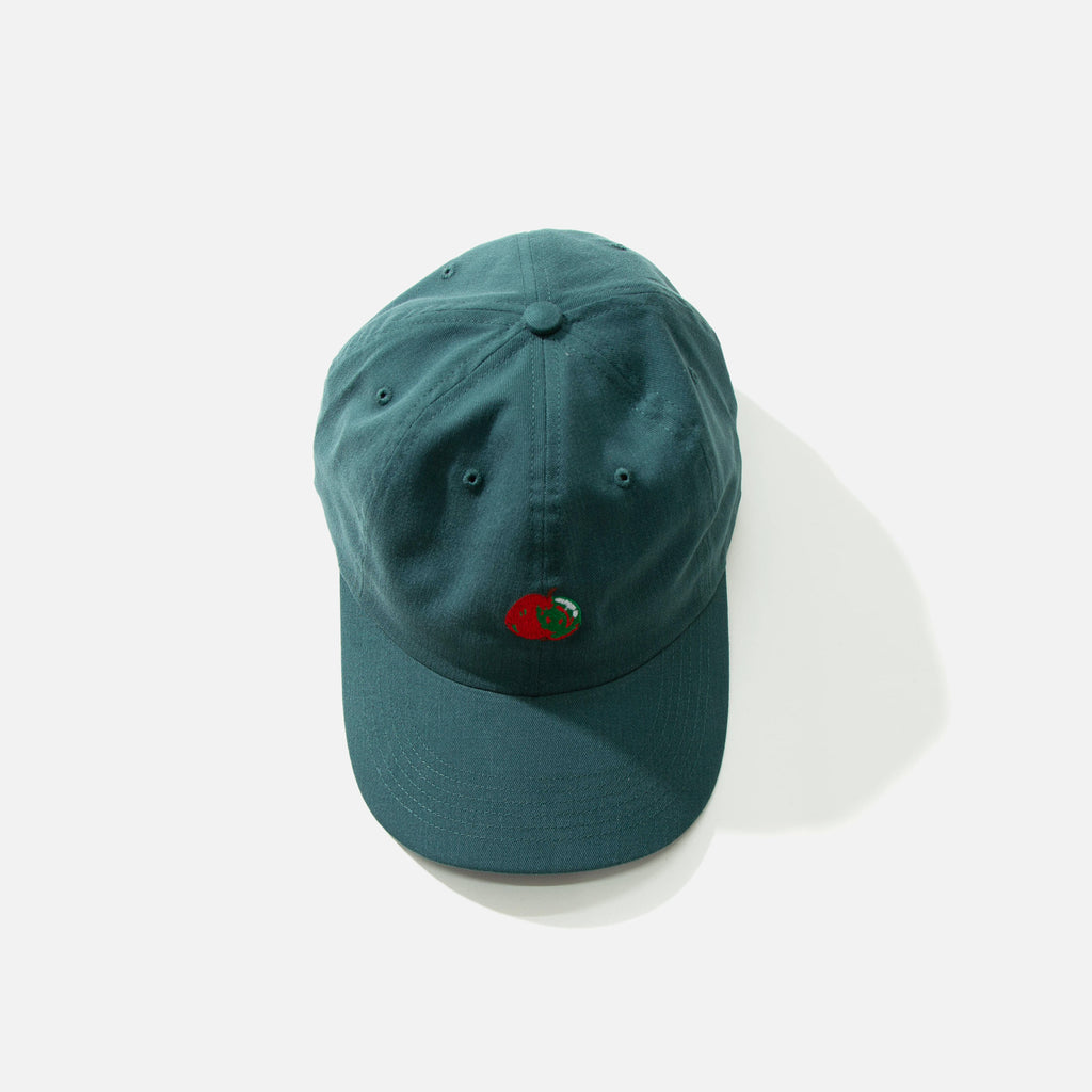Dancer Embroidered Apple Dad Cap in Dark Teal blues store www.bluesstore.co