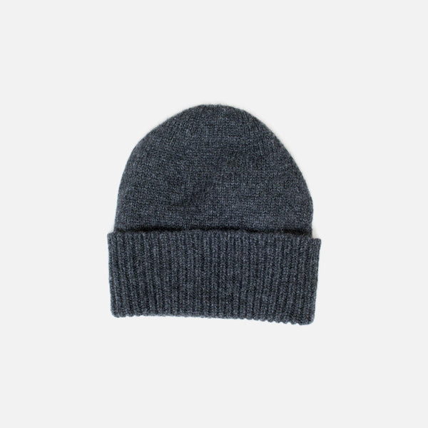 Cashmere Beanie - Charcoal