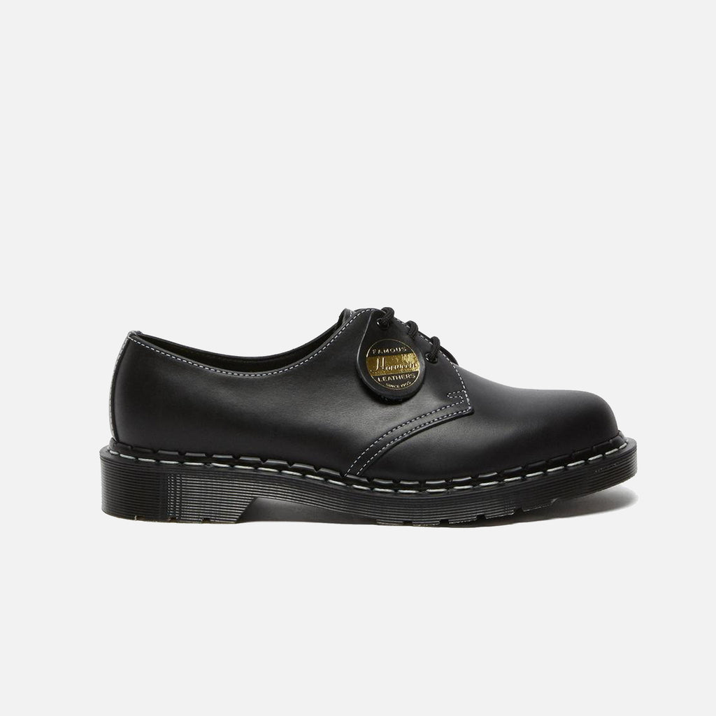 Dr Martens Made in England Vintage 1461 in Black Cavalier Horween Leather blues store www.bluesstore.co