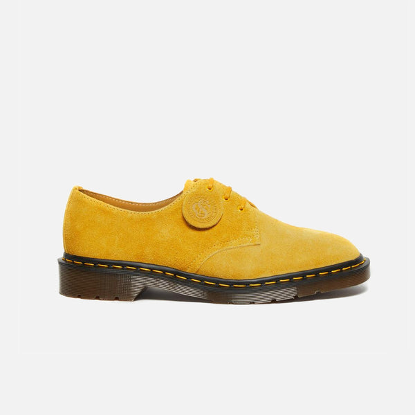 Dr Martens Made in England Desert Oasis 1461 in Sun Yellow Suede blues store www.bluesstore.co