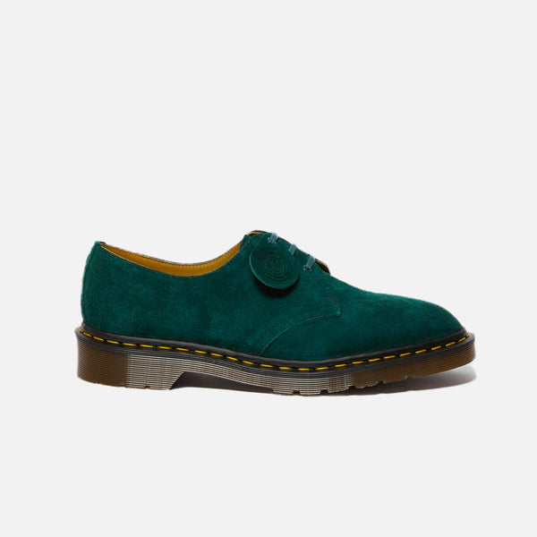 Dr Martens Made in England Desert Oasis 1461 in Green Night Suede blues store www.bluesstore.co