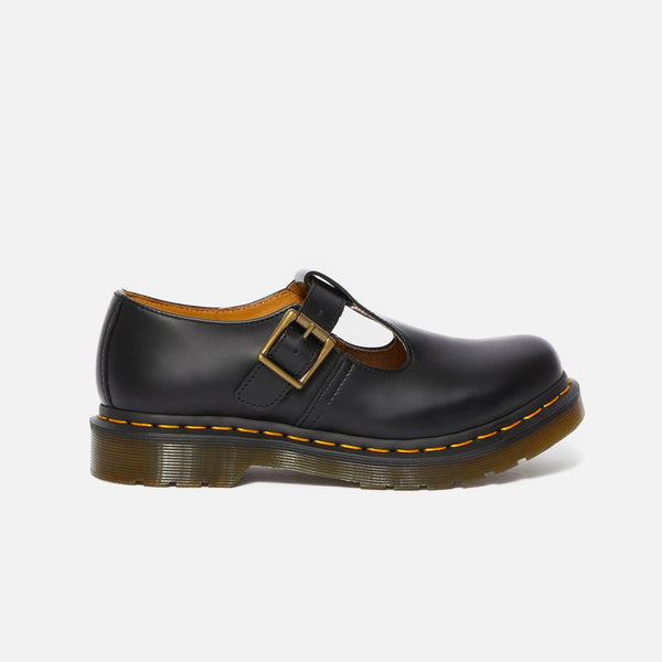 The Polley Mary Jane in black smooth leather from our Dr Martens spring 2020 selection blues store www.bluesstore.co
