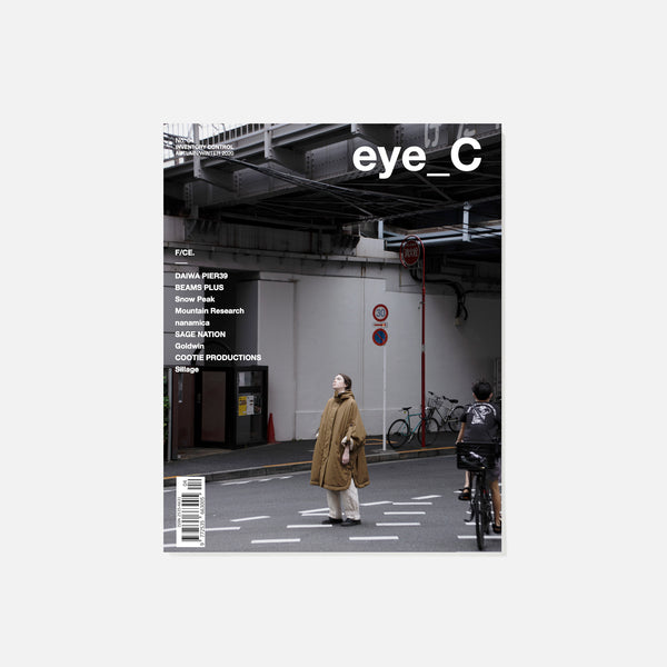eye-C Magazine - No.04 Cover 2 Autumn / Winter 2020 blues store www.bluesstore.co