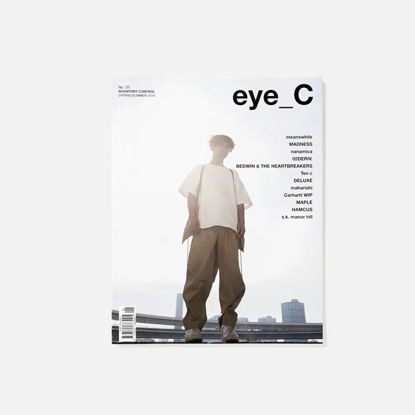 eye-C Magazine - No.01 Spring / Summer 2019 Blues Store