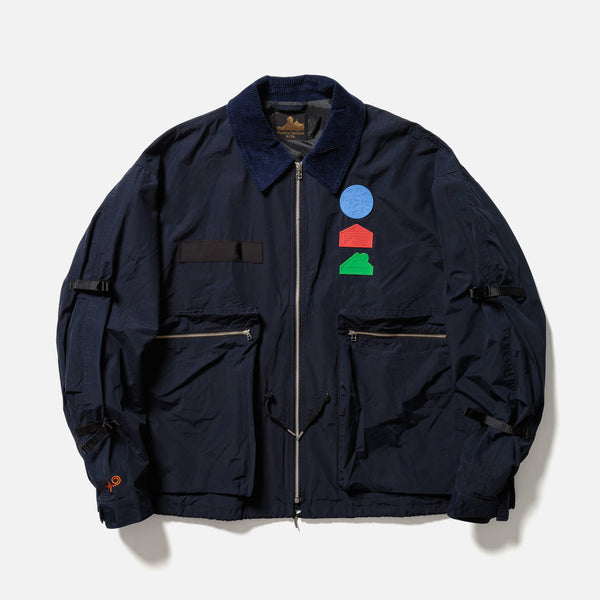 Fortress Solitude Coverall Jacket in navy blues store www.bluesstore.co