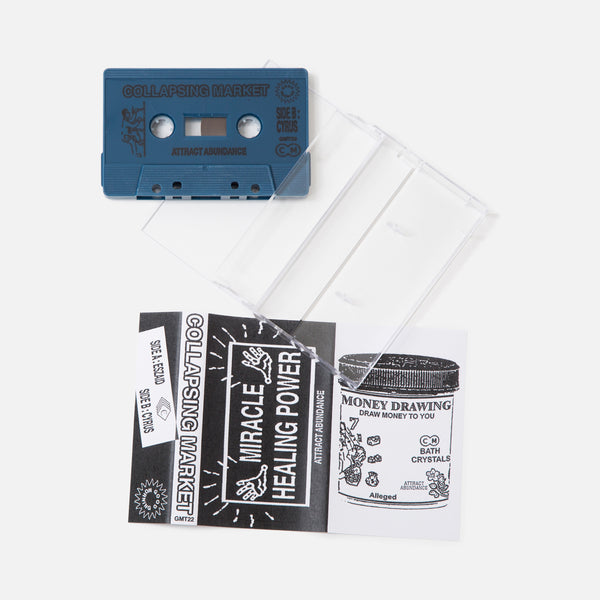 Good Morning Tapes GMT22 Collapsing Market - Attract Abundance Cassette Blues Store