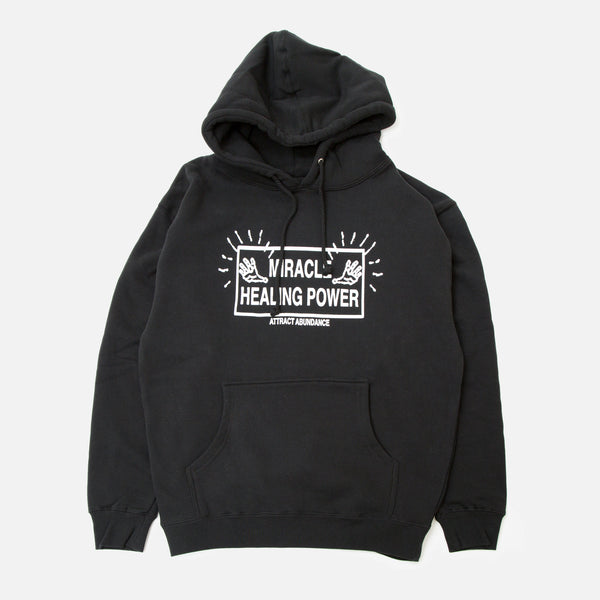 Good Morning Tapes Attract Abundance Hoodie Blues Store