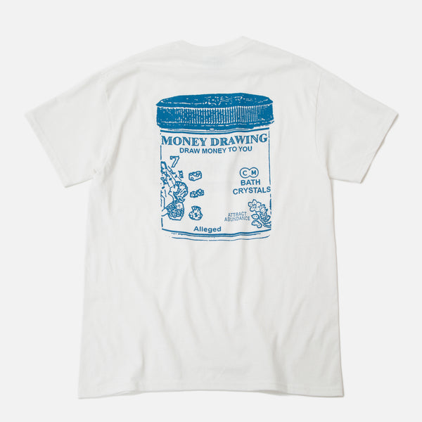 Good Morning Tapes Attract Abundance T-shirt White Blues Store