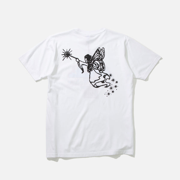 Doors of Perception T-shirt in White from Good Morning Tapes blues store www.bluesstore.co