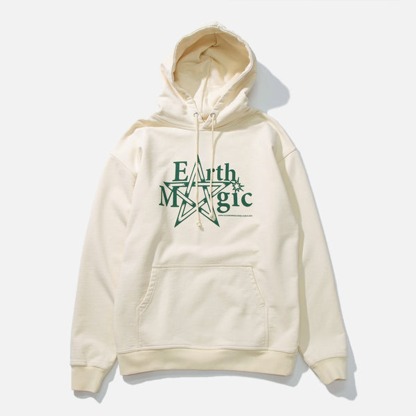 Earth Magic Hooded Sweatshirt in Natural from Good Morning Tapes blues store www.bluesstore.co