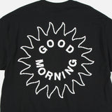 Sun Logo T-shirt in Black from Good Morning Tapes www.blusstore.co