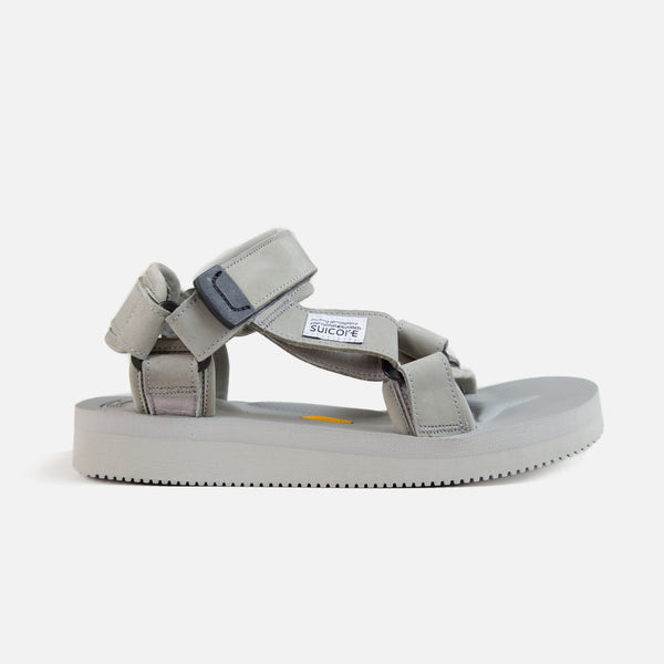 Depa V-2 Nubuck Sandals - Grey