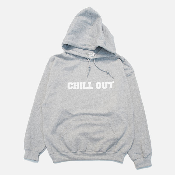 Chill Out Logo Hoodie - Heather Grey