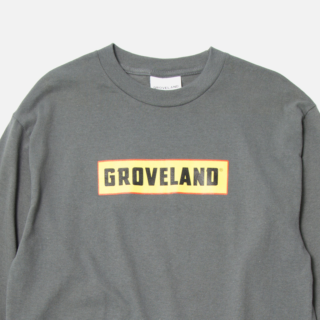 Groveland Fuck Dollar General long sleeve T-shirt in Granite Blues Store www.bluesstore.co