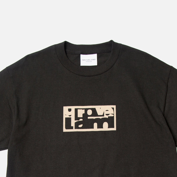 Groveland Logo T-shirt in black Blues Store www.bluesstore.co