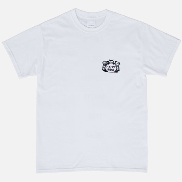 Happy Beat T-shirt - White
