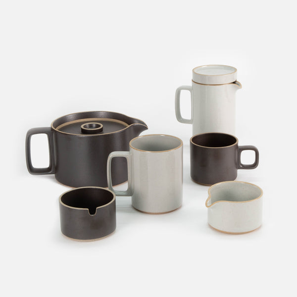 Hasami Sugar Pot in Black blues store www.bluesstore.co