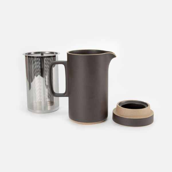 Hasami Tall Tea Pot - Black