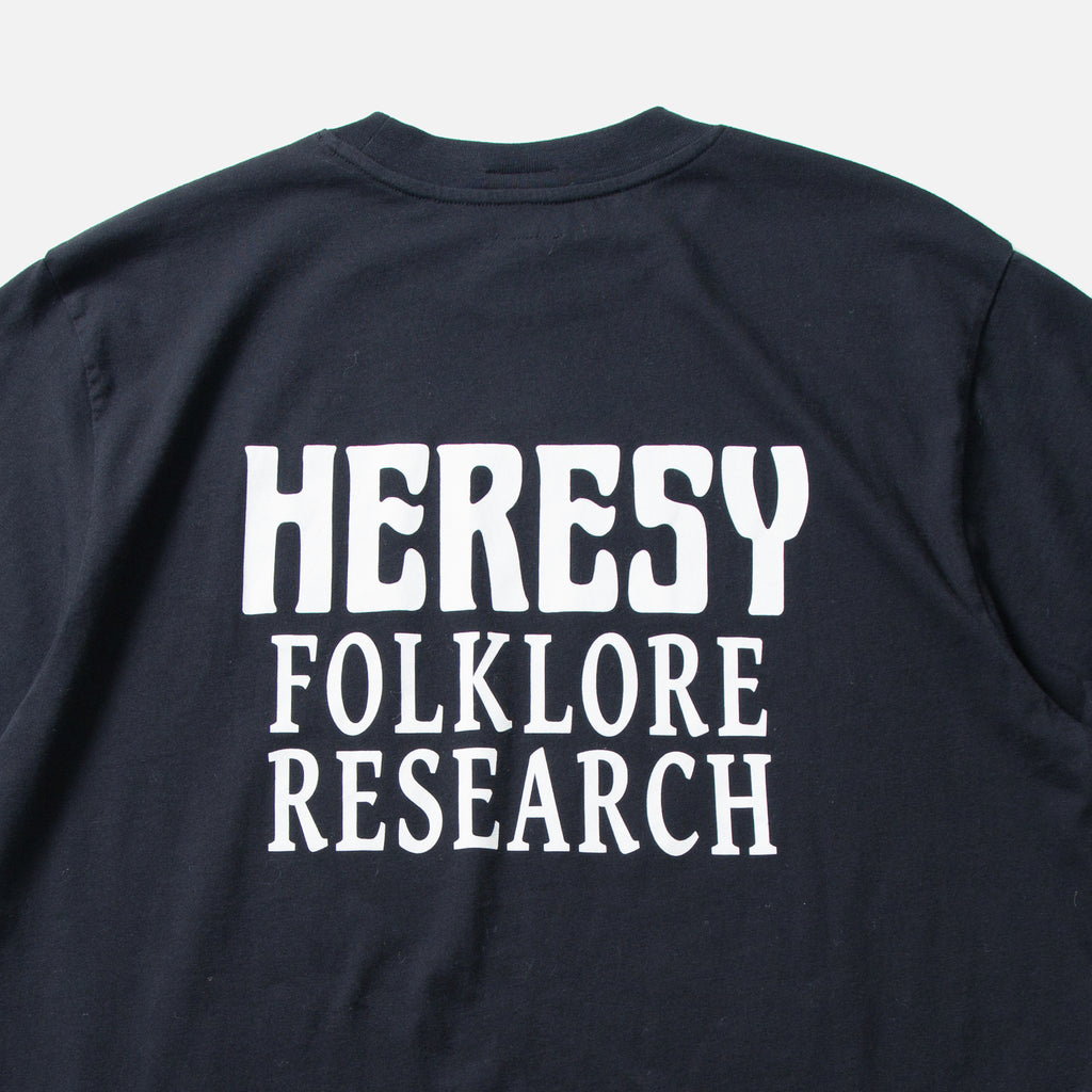 Heresy Research T-shirt Autumn 2020 blues store www.bluesstore.co