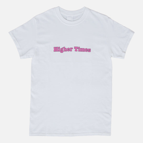 Higher Times T-shirt - White