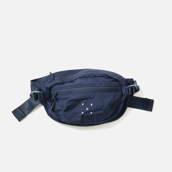 Hipbag in Navy from the Pop Trading Company blues store www.bluesstore.co