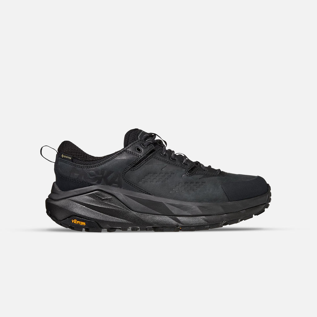 Kaha Low Gore-Tex in Black / Charcoal Grey from Hoka One One blues store www.bluesstore.co