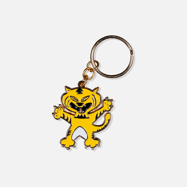 Ian Dolan tiger keyring blues store www.bluesstore.co